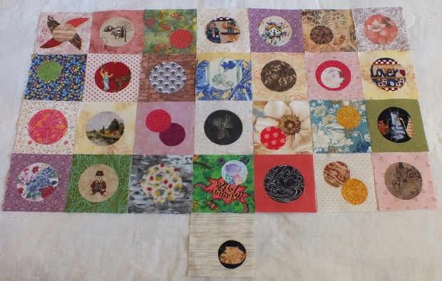Quilty 365 - February 2016 circles