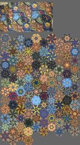 Aboriginal fabric OBW
